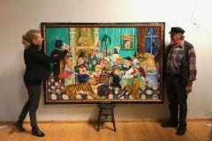 KunstsentralenNord har solgt verket «Karnevalet (1992)» av Synvis Glinn Nordin til privat kunde i næringslivet i Nordland ( 2017)
