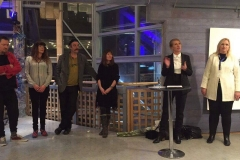 Kunstnere, Nordlysfestivaldirektør og kurator, Åpningstaler Nordlysfestivalutstilling 2017 Kulturhuset