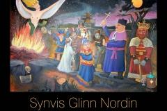 Denne kunstkatalogen viser oss noen av høydepunktene i Synvis Glinn Nordins kunstnerskap.
