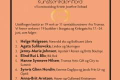 Kunstløypa, deltagere, i anledning Tromsø Bys 225 års feiring